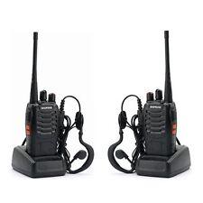 2x Baofeng BF-888S UHF 400-470 MHz 5W CTCSS Two-way Ham Radio 16CH Walkie Talkie