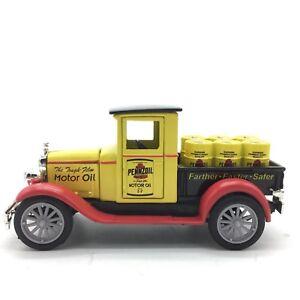 Newray-1928-Chevy-Pickup-Truck-Toy-Pennzoil-Motor-Oil-1-32-13CM