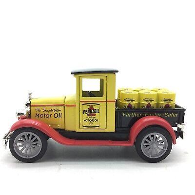 Newray 1928 Chevy Pickup Truck Toy Pennzoil Motor Oil 1:32 13CM