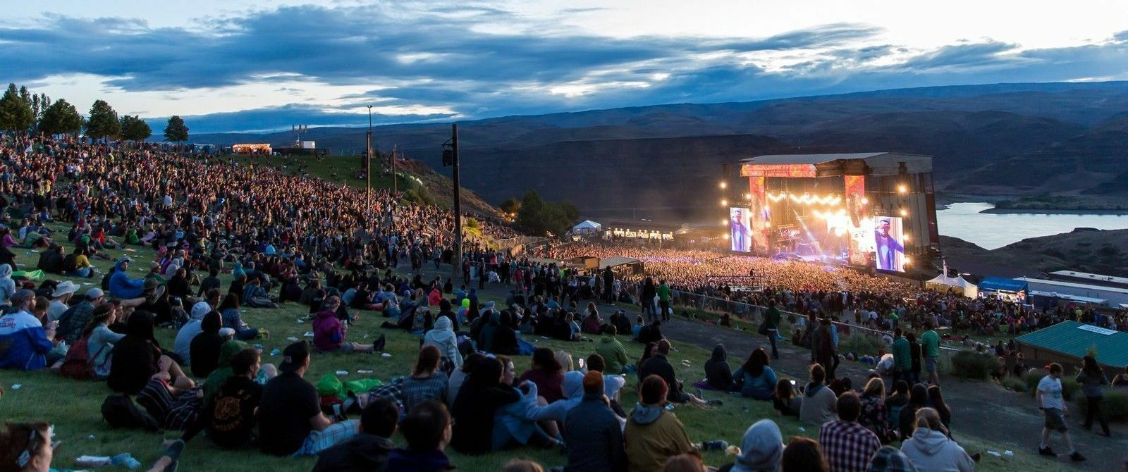 PARKING PASSES ONLY Sasquatch Music Festival Friday Only