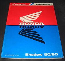 Werkstatthandbuch Honda Shadow 50 / 90 Motorroller HF09 Motor Roller 1998!