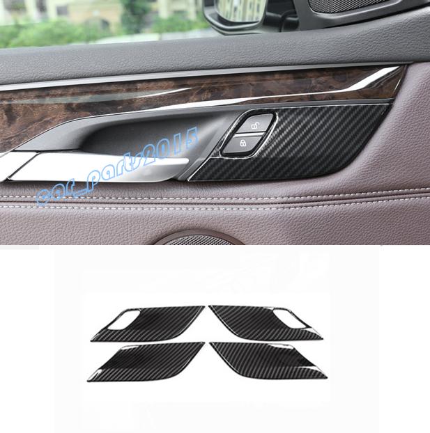 For BMW X5 F15 X6 F16 2015-2018 Carbon Fiber Center Air Vent Outlet Decor Cover