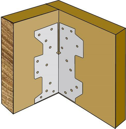 Multigrips 130mm Box 50 Support Bracket Timber Joiner Joists Roof Trusses Plate
