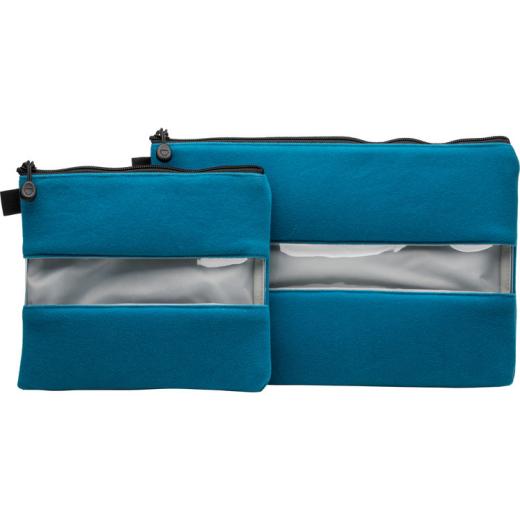 Capable Tenba Outils Entraînement Pochette 2-piece Set - Bleu Chaud Et Coupe-Vent
