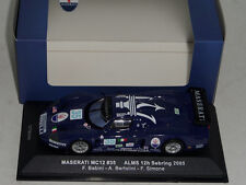 1/43 IXO Maserati MC12 from the 2005 ALMS 12 H of Sebring car #35