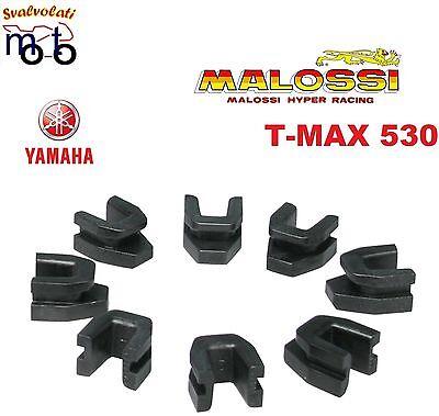 KIT 8 CURSORI X PIATTELLO VARIATORE ORIGINALE YAMAHA TMAX T-MAX 530 ANNO 2012