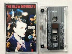 THE BLOW MONKEYS CHOICES K7 AUDIO TAPE c32
