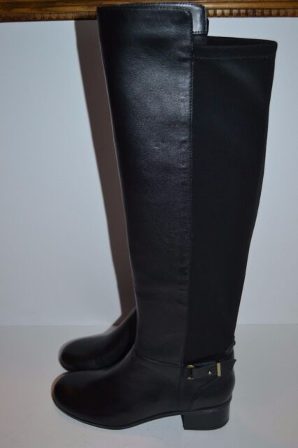 a7ff4e29669 Bandolino Cuyler Women US 7.5 Black Knee High Boot Pre Owned Blemish 1709