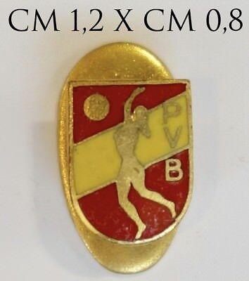 3109) Distintivo Sportivo P.v.b. Pallavolo Bergamo Modello Anonimo