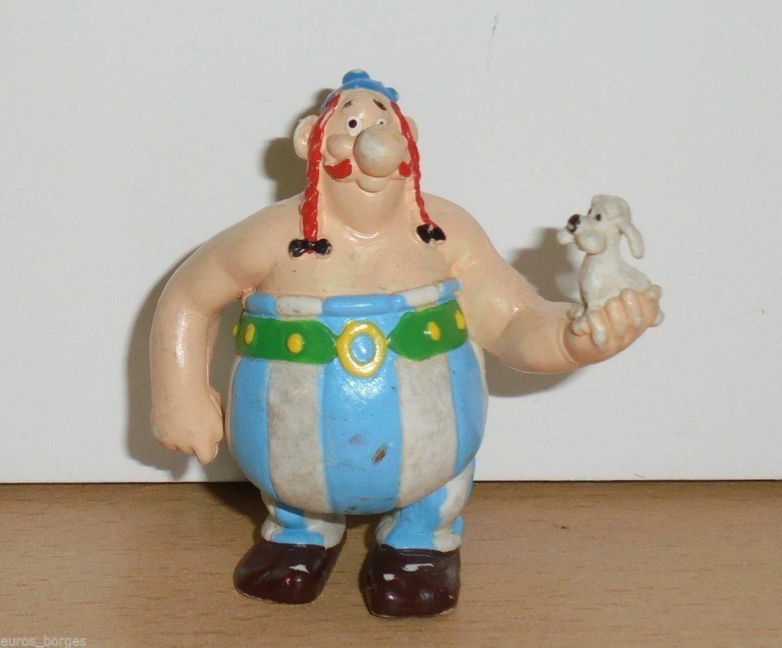 Vintage The Adventures of Asterix OBELIX PVC FIGURE MAIA BORGES - PORTUGAL 1985