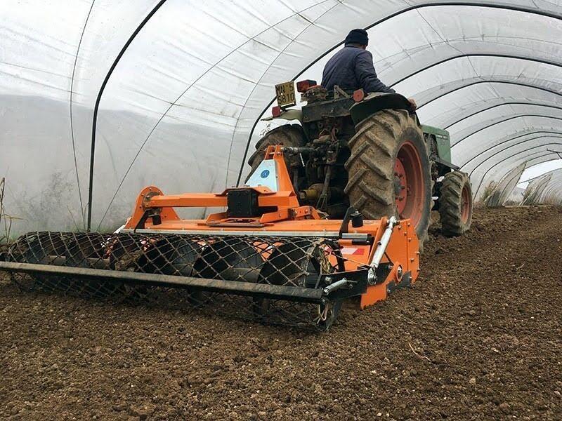 DFU-160 Stennedlægningsfræse til traktor 30-50h...