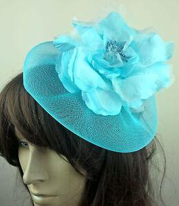 turquoise-blue-satin-flower-fascinator-millinery-burlesque-wedding-hat-bridal