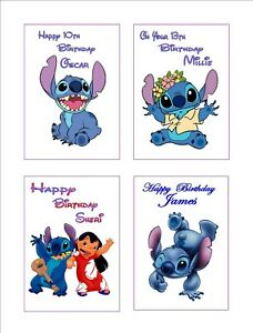 Image Is Loading Personalised Disney Inspired 034 LILO Amp STITCH