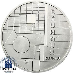 Deutschland 10 Euro Silber 2004 Bfr Bauhaus Dessau Münze In