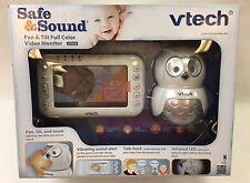 VTech Safe & Sound VM344 Owl Digital Video Baby Monitor with Pan & Tilt Camera