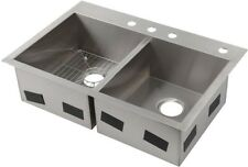 Kohler K-3944-1-na Vault Kitchen Sink Apron Front Double Bowl ...