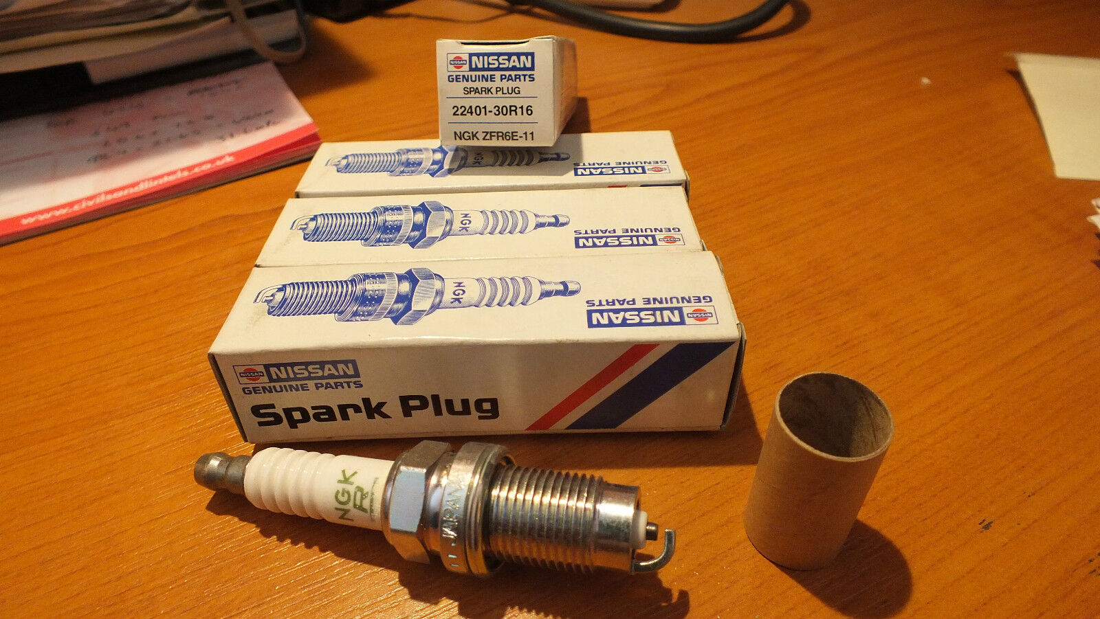 CR7HSA GENUINE NGK SPARK PLUGS NGK 4549 x4 FOUR