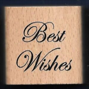BEST WISHES Design Wedding Gift Tag Words Anita\'s Small Wood CRAFT ...