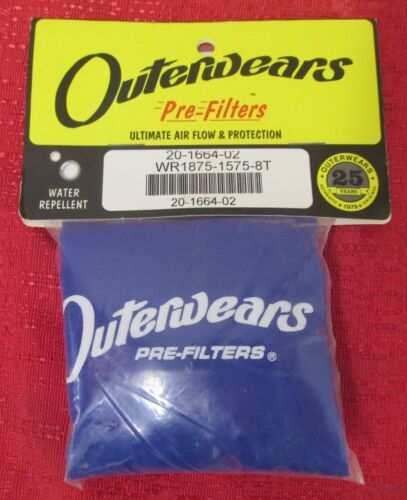 FITS  EARLY GM TRUCKS PRE FILTER OUTERWEARS 20-1664-02  BLUE