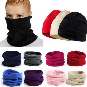 Women-Men-039-s-Face-Cover-Winter-Warm-Ski-Mask-Cap-Fleece-Beanie-Hat-Bonnet-Scarves
