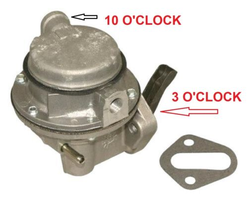Mercruiser 454 502 FUEL PUMP 7.4-L 1982 1983 1984 1985 1986 1987 1988 1989 1990