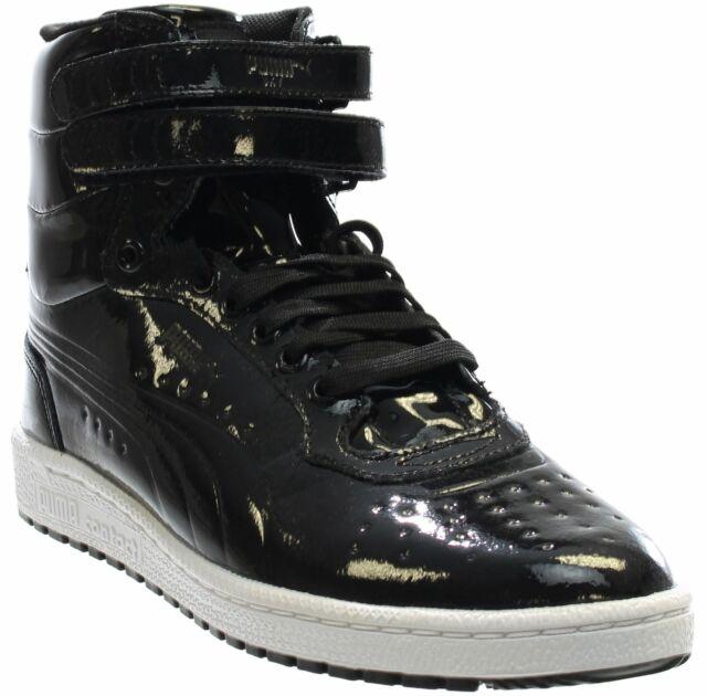 Puma Sky II High Patent Emboss Sneakers