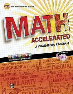 merrill pre algebra glencoe math accelerated student edition by rh ebay com Pre-Algebra Study Guide Fill Out glencoe pre algebra study guide answer key