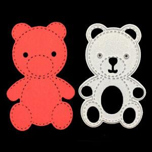 Bear Mold DIY Art scrapbookingCutting Cutting Steel Scrapbooking Paper Carbon