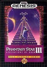 Phantasy Star III: Generations of Doom (Sega Genesis, 1991)