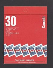 Canada 1998 45c Flag MNH Booklet $13.50 Opened