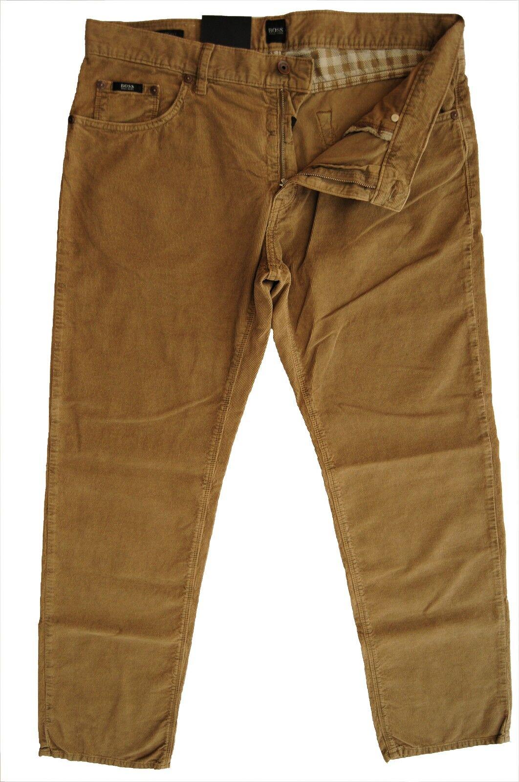 NUOVO w32 l34 Hugo Boss Jeans Pantaloni Maine 32 34 regular gamba fit 50207788