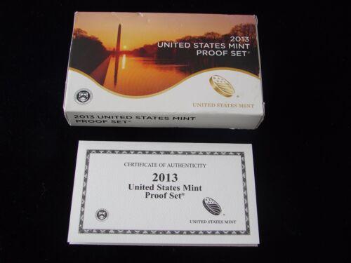2013 S  UNITED STATES MINT PROOF SET