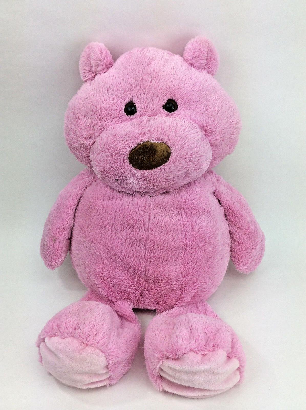 Animal Adventure Teddy Bear Pink JUMBO Plush Stuffed Animal 28
