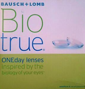 Bio true ONE DAY Kontaktlinsen + 2.25 DIA 14.2 BC 8.6  90 Stück