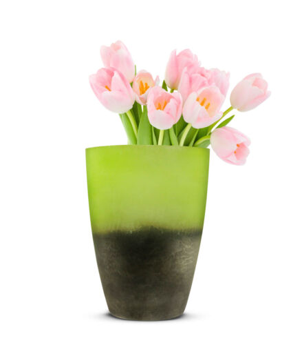 Blumenvase Oxi 2.Wahl Tischvase Glasvase Dekovase Vase Blumentopf  Pflanztopf