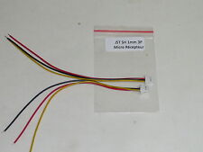 2 Cables JST-SH 1.0mm 3pins compatibles Micro Récepteur FlySky, Lemon, Etc..