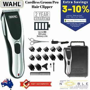 Wahl-Cordless-Rechargeable-Professional-Hair-Clipper-Shaver-Grooming-Trimmer-Set