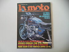 LA MOTO 3/1979 PROVE TEST SUZUKI GS 850 / MONTESA CAPPRA 250 VE