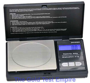 New 600g x 0.1gram Digital Hobby Scale for Hand Archery, Jewelry, Gold, Diamonds