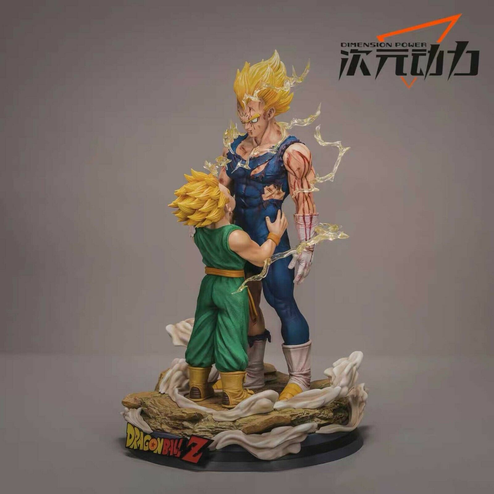 DIMWNSION POWER Studio Dragon Ball Super Vegeta&Trunks Resin Statue
