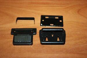 Accessoire Maroquinerie 2 Fermetures De Cartable Acier Noir 40 X 40 Mm Neuf Zmi7bjv1-10041726-233904399