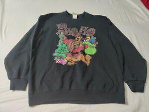 Ho Ho Ho Christmas Black Sweatshirt