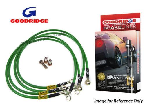 Goodridge For Mitsubishi Charisma//Lancer GT Evo V Braided Brake Kit Lines Hoses