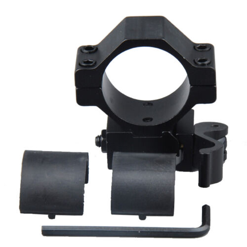30mm/&25.4mm Scope Ring QD Mount Adapter Low Profile Fit 20mm Picatinny Rail US