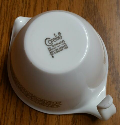 Old Stock Corelle  Woodland Brown  Creamer by Corning NEW