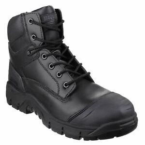 Magnum-Magnum-Roadmaster-Black-Metal-Free-Safety-Footwear-Durable-leather-S3