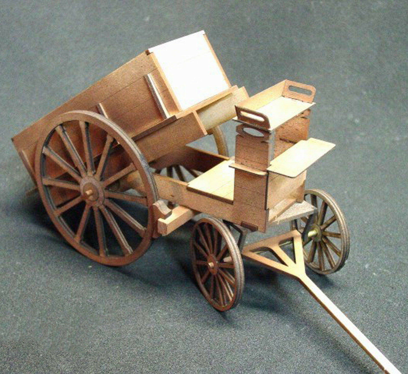 ORE DUMP WAGON G F 1 20.3 Scale Model Railroad Unptd Wood Laser Kit GMODF