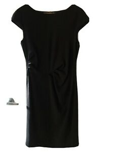 Weekend-MaxMara-Women-s-Black-Formal-Dress-Sz-46-Au-12-RRP-675-As-New