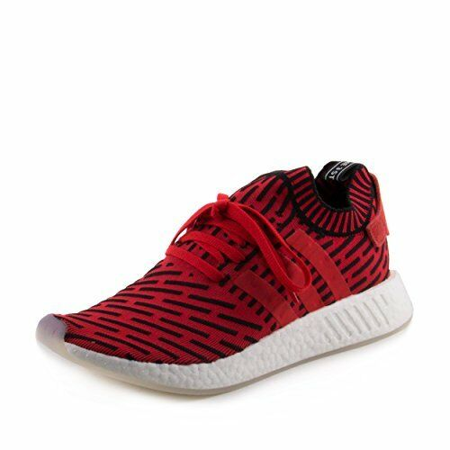 460062d99 adidas Originals NMD R2 PK Primeknit Red Black White BB2910 GB 10 for sale  online