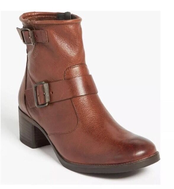 PAUL VERDE ROMEO BROWN LEATHER BOOTIE 2025* SIZE 7.5 UK  399